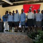 Zion choir at Roosboom